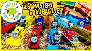 BIGGEST THOMAS AND FRIENDS MYSTERY GRAB BAG EVER! Fun Toy Trains for Kids!