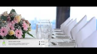 Faber Peak Singapore - Hilltop Wedding Venues