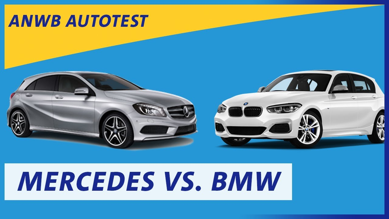 anwb test mercedes a klasse versus bmw 1 serie youtube. Black Bedroom Furniture Sets. Home Design Ideas