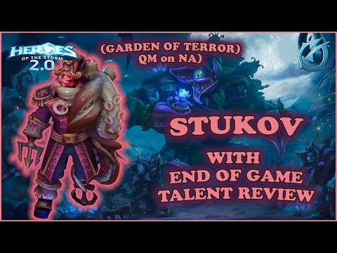 Grubby | Heroes of the Storm 2.0 - Stukov - End of Game Talent Review - QM on NA - Garden of Terror