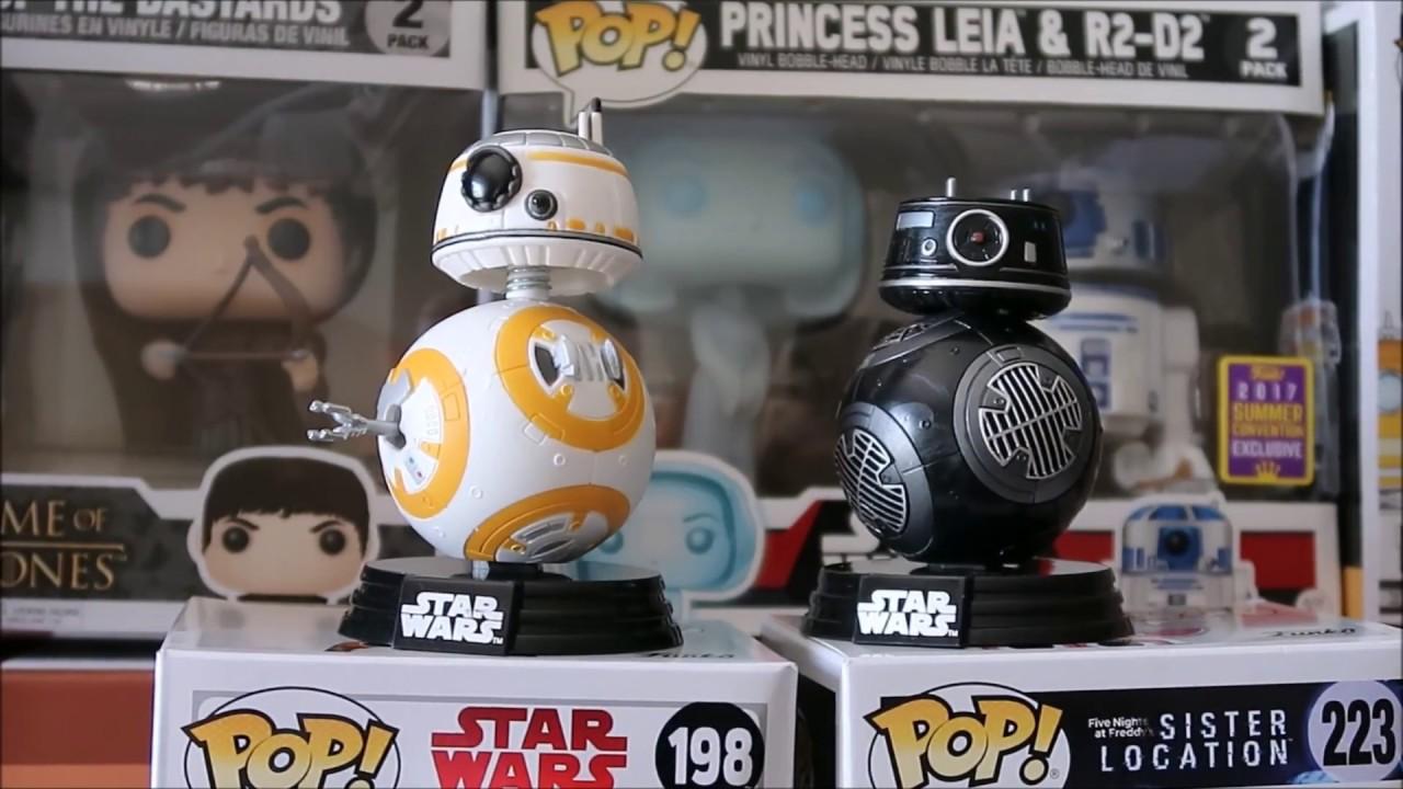 Figur 9 cm Funko Star Wars VIII BB-9E POP
