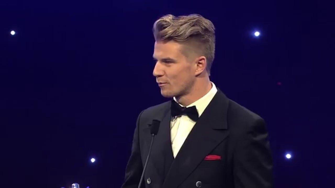 Nico Hulkenberg - Gregor Grant Award - Autosport Awards 2015