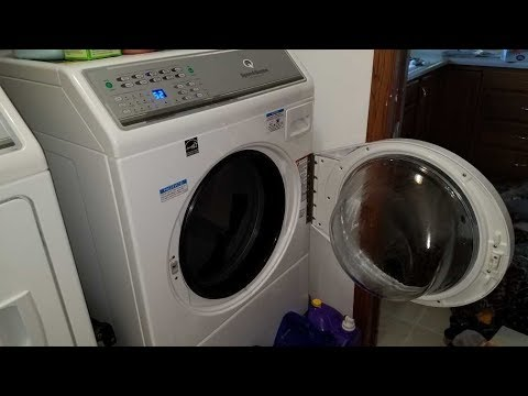 Speed Queen Front Load Washer Normal Eco Clean Cycle W