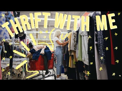 COME THRIFT WITH ME FOR FALL FASHION TRENDS + Thrift Store Try On