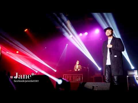 EPIK HIGH Concert 'PARADE' In Taiwan 20150228- 춥다(冷/It's Cold)+우산(雨傘/Umbrella)+평화의 날(平和的一天/PeaceDay)