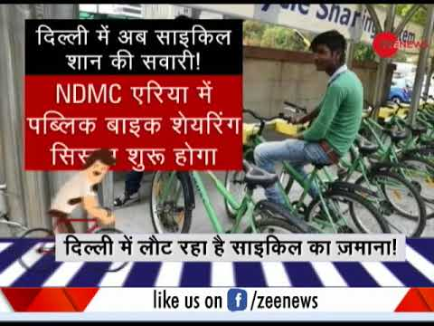Deshhit: Smart bicycle culture starts in India's capital