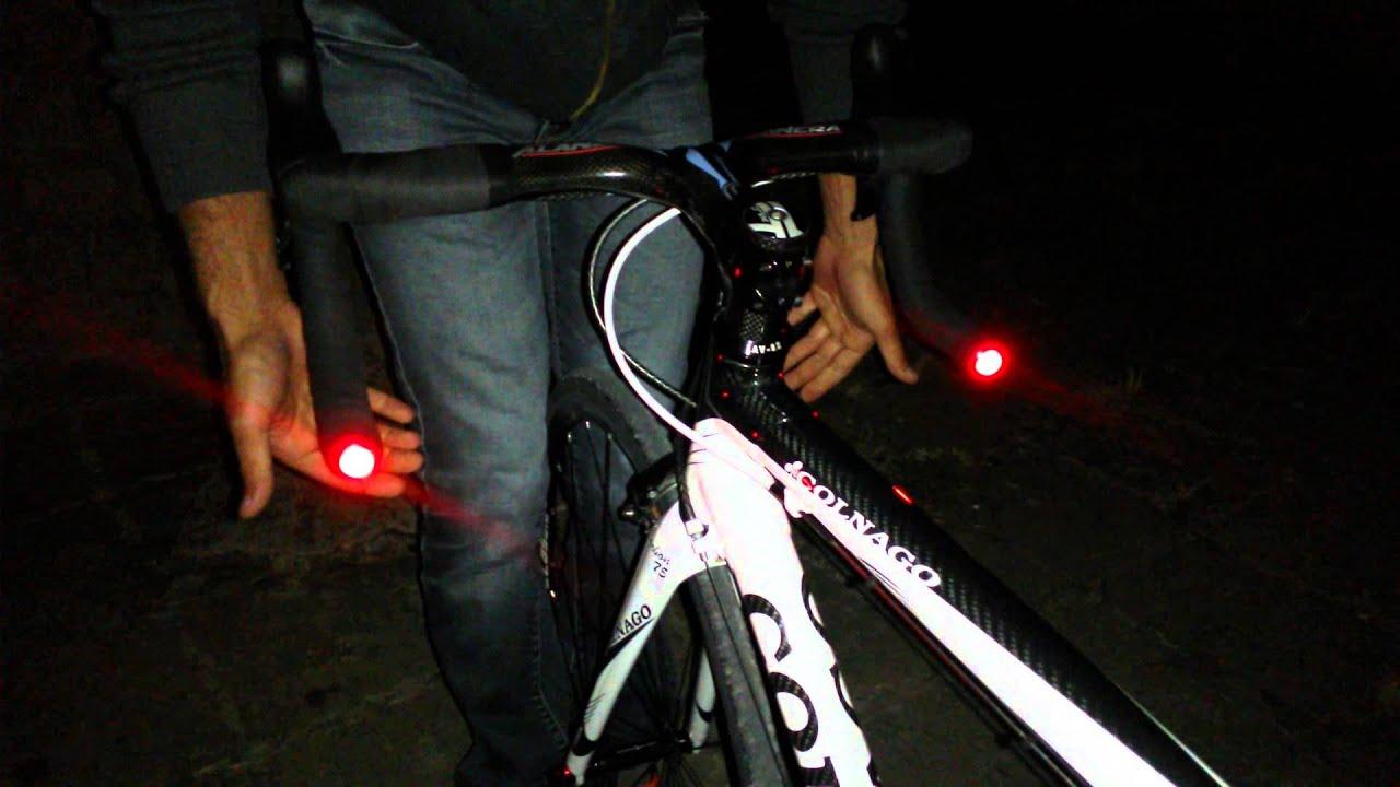 Illuminazione Bici Da Corsa : Luce di posizione per biciclette da corsa invisibile