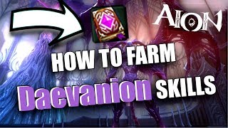 AION 6.2 - How to drop Daevanion skills?