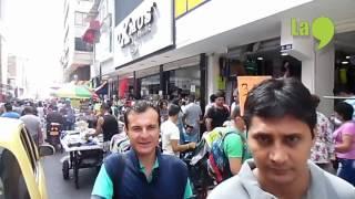Recorrido x el centro de Cali, colombia