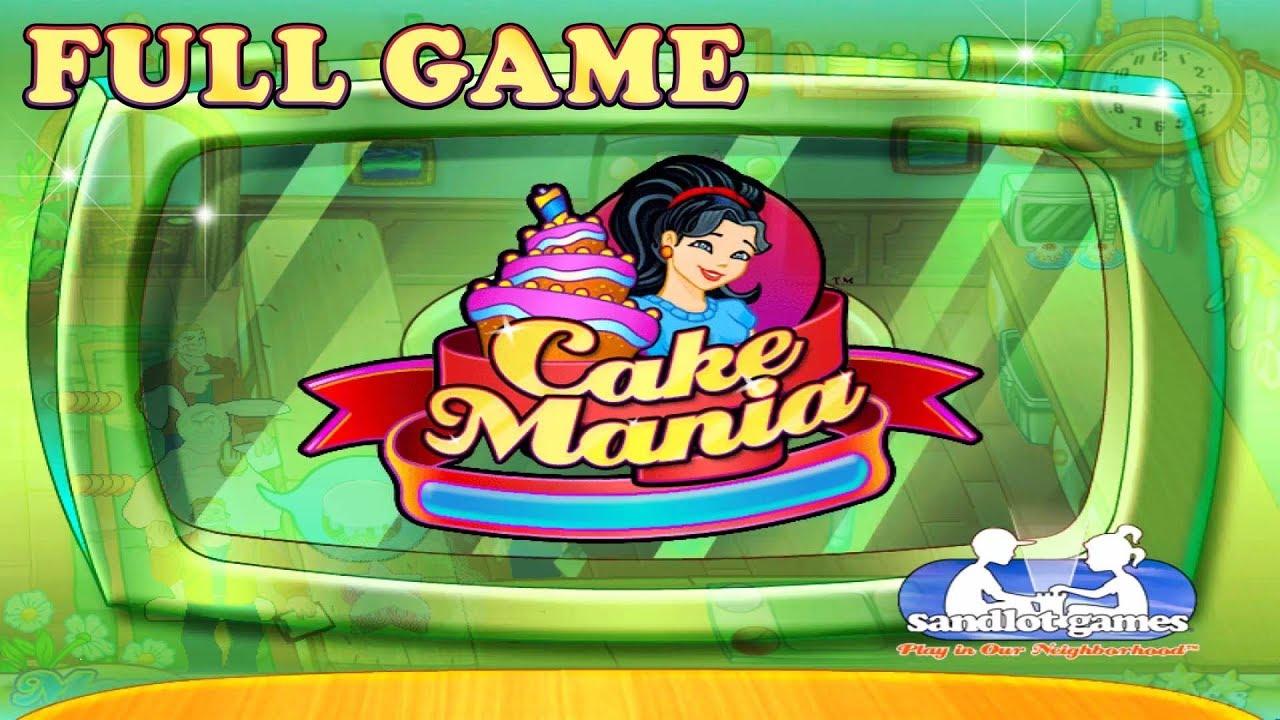 Cake Mania – Full Game 1080p60 HD Walkthrough – No Commentary