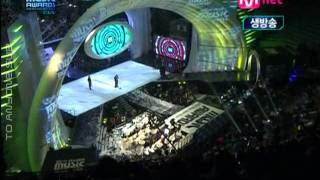 """[To Anyone Sub][MAMA 2009] 2NE1 - MV xuất sắc nhất & Ca khúc của năm """"I Don't Care"""""""