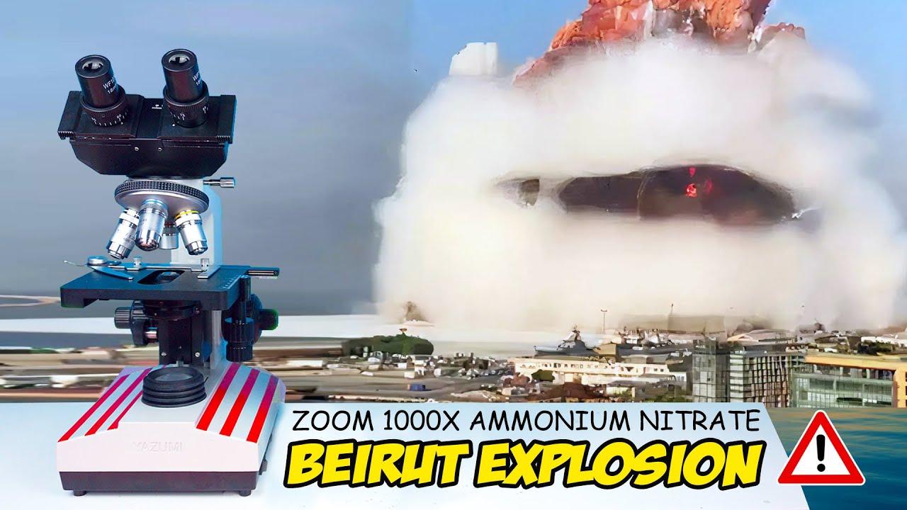ZOOM 1000X: AMMONIUM NITRATE PENYEBAB LEDAKAN BEIRUT LEBANON EXPLOSION