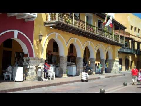 Aduana Square Cartagena Colombia Old City Centro