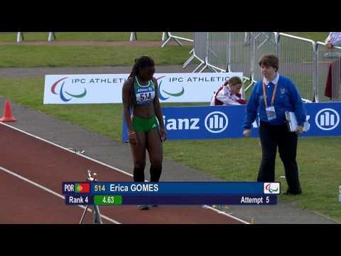 Women's long jump T20 | 2014 IPC Athletics European Championships Swansea