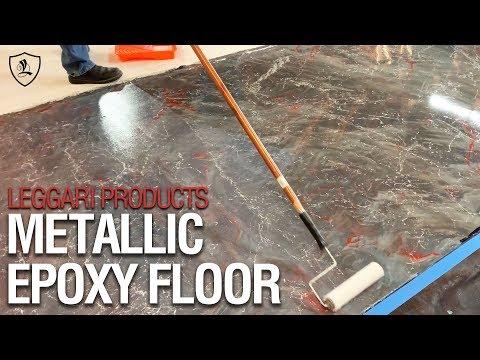 Metallic Epoxy Floor   Leggari Products