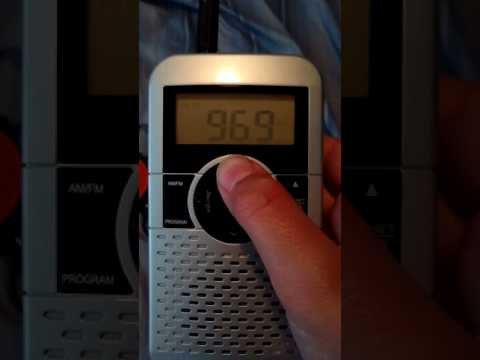 FM radio bandscan for Pittsburgh Pa 2017