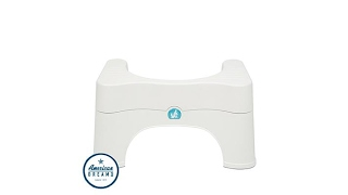Squatty Potty Adjustable Natural Squat Toilet Stool Set