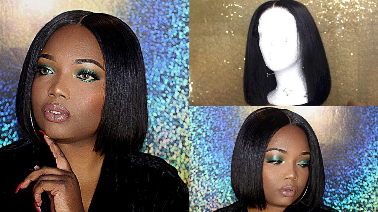 How To Make A Bob Wig From Start To Finish Beginner Friendly Youtube