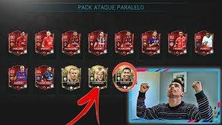 LEYENDA IN A PACK !!! 2 GRL 90 Y 10 ELITES !!! INCREIBLE !!!    FIFA 18 MOBILE