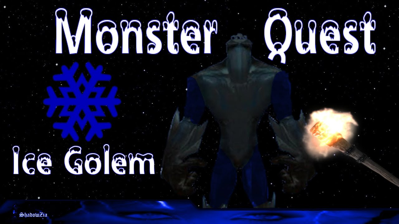 Monster Quest Ice Golem Its Cold 0 Youtube
