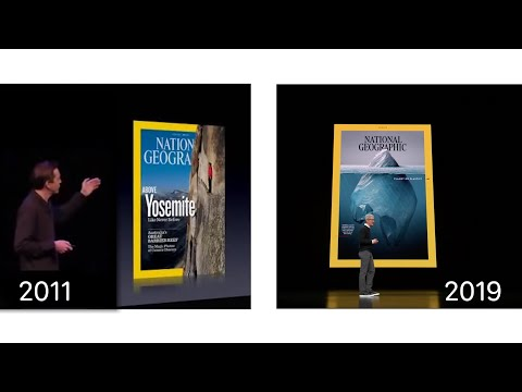 Video: Apple News+ (2019) Is Strikingly Similar to Newsstand in 2011