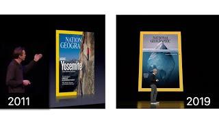Apple News+ vs. Apple Newsstand (2011) Keynote Comparison