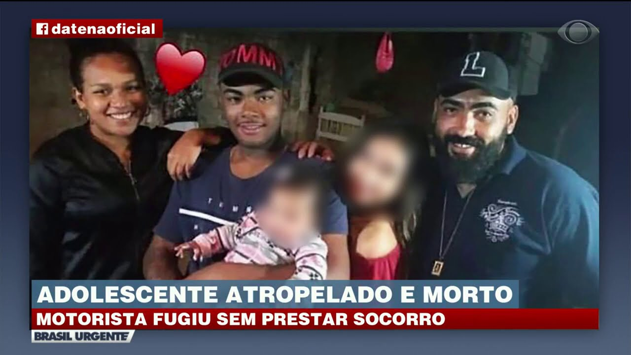 ADOLESCENTE É ATROPELADO E MORTO; MOTORISTA FUGIU SEM PRESTAR SOCORRO | BRASIL URGENTE