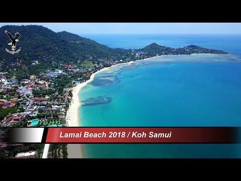#7 Lamai Beach 2018 / Koh Samui / Thailand / overflown with my drone