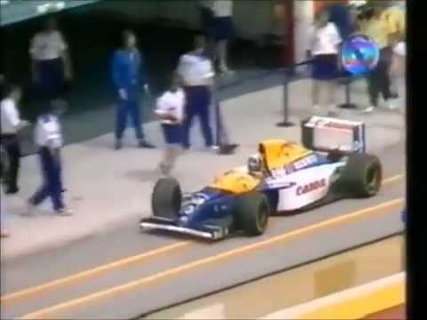 QUALIFY do GP de San Marino de 1993 : Michael Andretti VELOZ no pit lane (p4)