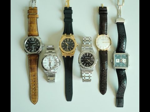 PAID WATCH REVIEWS - Soto's Collection; when money is no object JU40