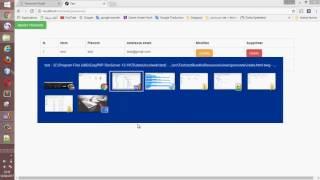 crud symfony 2 avec animation js ( modal ) episode 7