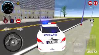Fun police car racing game - Racing games for kids