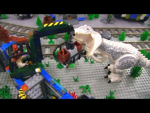 Lego Jurassic World Invades New Jang City All Sets Together Youtube