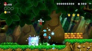 New Super Mario Bros. U - Giungla gassata 1 - Congela un Koopa gigante per 1-Up consecutivi (Wii U)