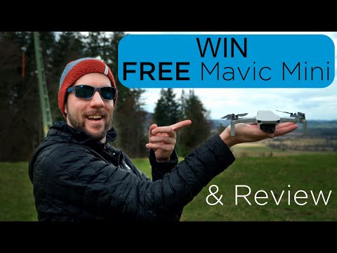 Mavic Mini Giveaway & Review - Win A FREE DJI Drone! [4K]