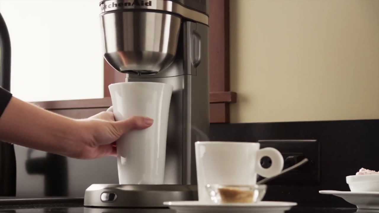 Personal Coffee Maker Kitchenaid Youtube