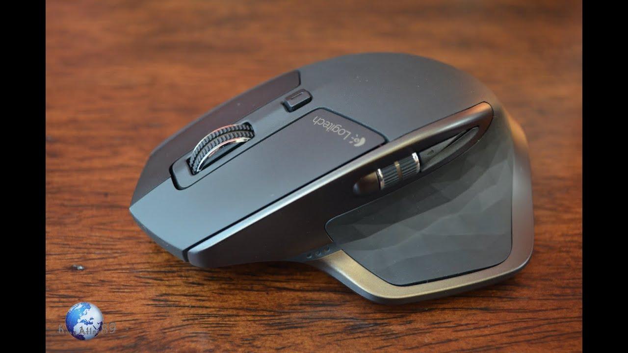 5a1af1ce6a2 Logitech MX|MASTER (wireless/bluetooth mouse) - YouTube