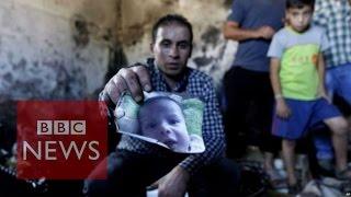 Palestinian fury as baby dies in