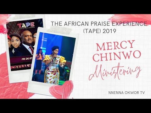 Mercy Chinwo Ministering At TAPE 2019