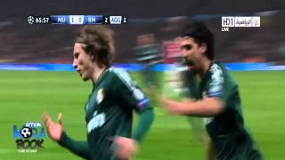 Manchester United 1-2 Real Madrid Arabic commentator All Goals  Highlights Champions League HD