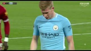 Kevin Bruyne vs Liverpool 1412018 Away