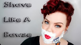 HOW TO SHAVE YOUR FACE | Skincare Sunday with Vintageortacky