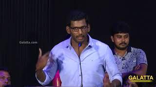 Vishal Speech at Kathirupor Pattiyal AudioLaunch | Sean Roldon, Sachin Mani, Nandhitha |