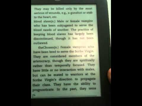 Kindle Experimental MP3 Features