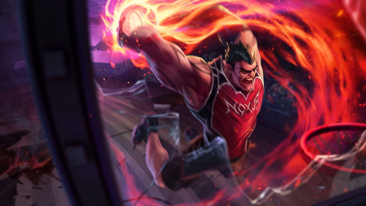 Voice - Dunkmaster Darius - New Legendary Skin - YouTube
