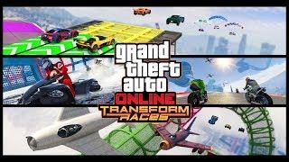 New TRANSFORM RACES (GTA Online Thanksgiving Week Live Stream)