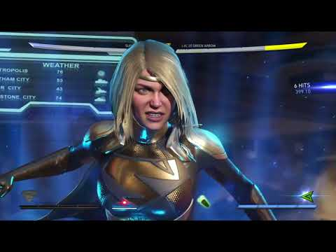 Injustice 2 Supergirl NEW HIGHEST COMBO