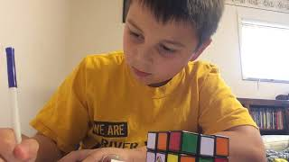 drawing a rubiks cube