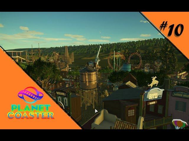 HIGHNOON IM MORGENGRAUEN 🎢 Let's Play Planet Coaster #10