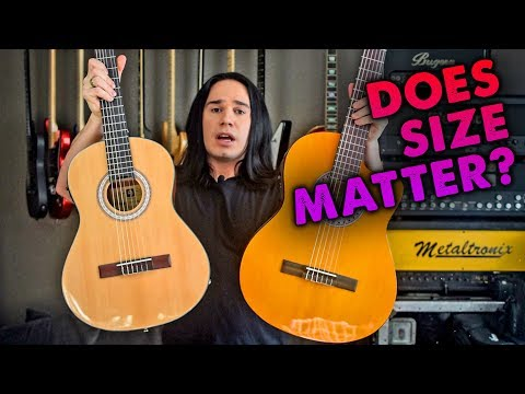 3/4 Size Guitar! Why? (Vangoa 3/4 Classical Acoustic Electric) - Demo / Review
